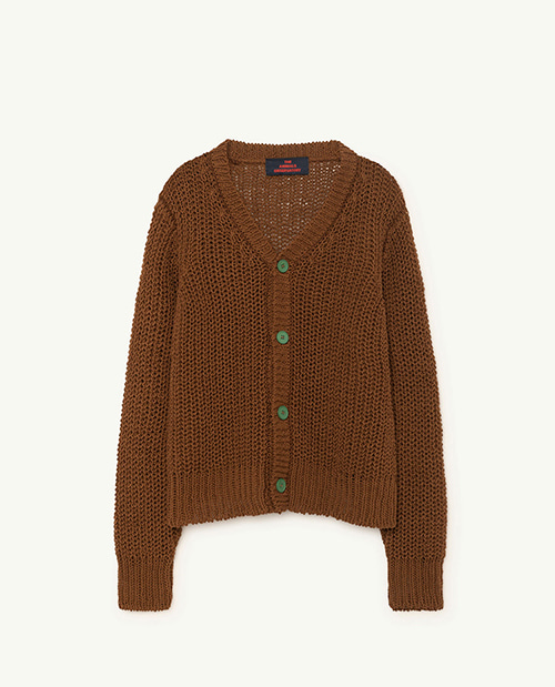 PLAIN RACCOON KIDS CARDIGAN 000940_052_XX