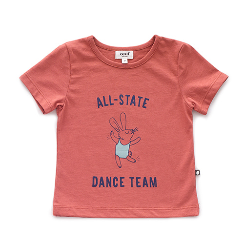 T-SHIRT_RUST/DANCE