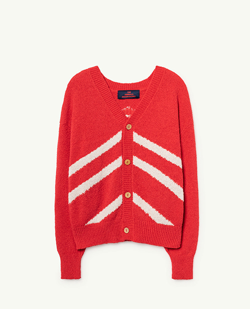 STRIPES RACCOON KIDS CARDIGAN 000944_038_XX