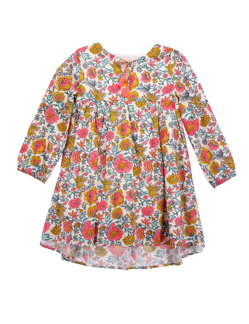 Hola dress/Multi Flowers