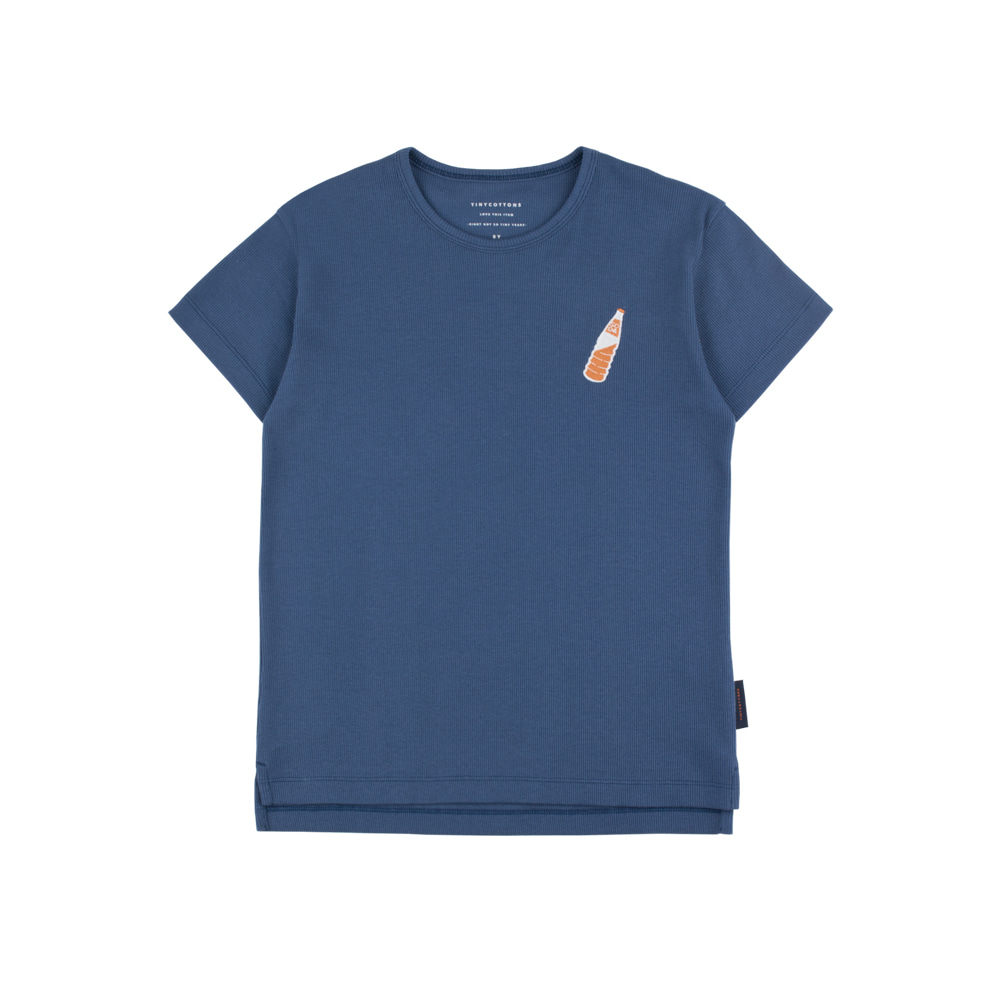 SODA BOTTLE TEE_NAVY