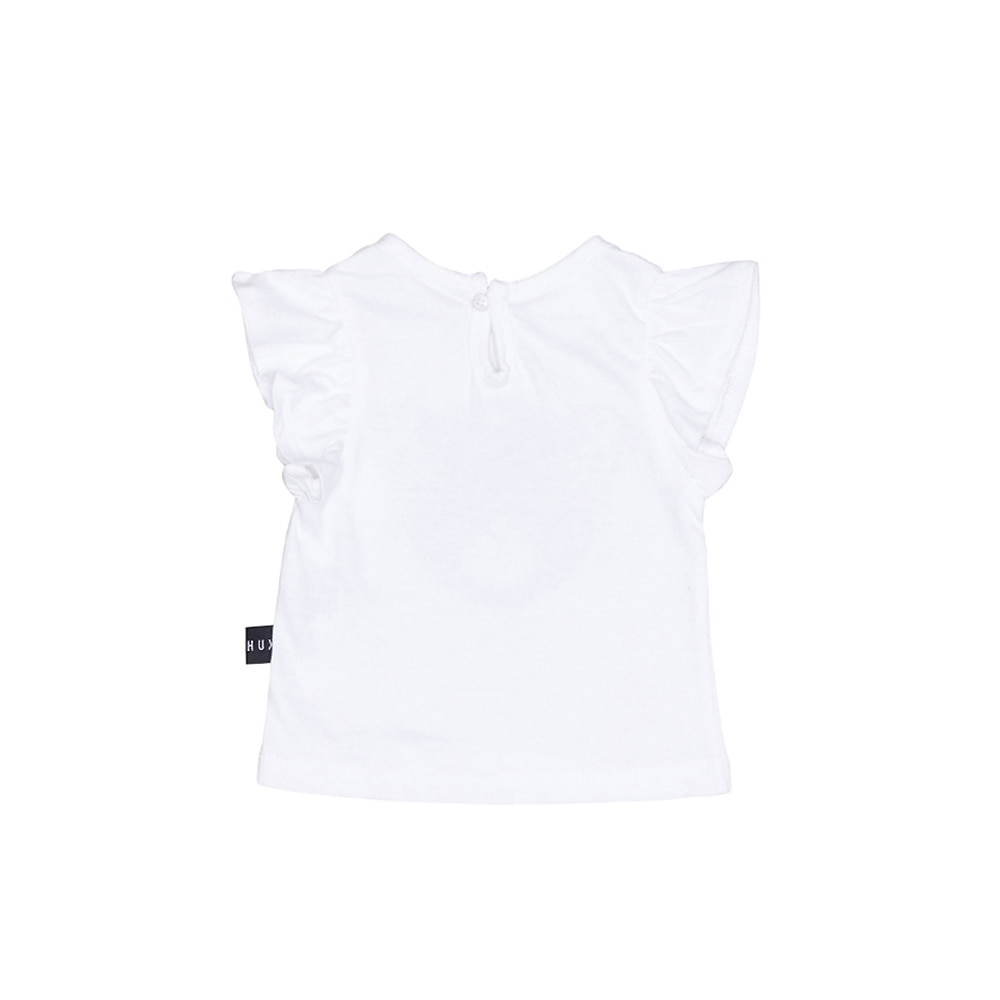 STAR HUX FRILL TOP_WHITE