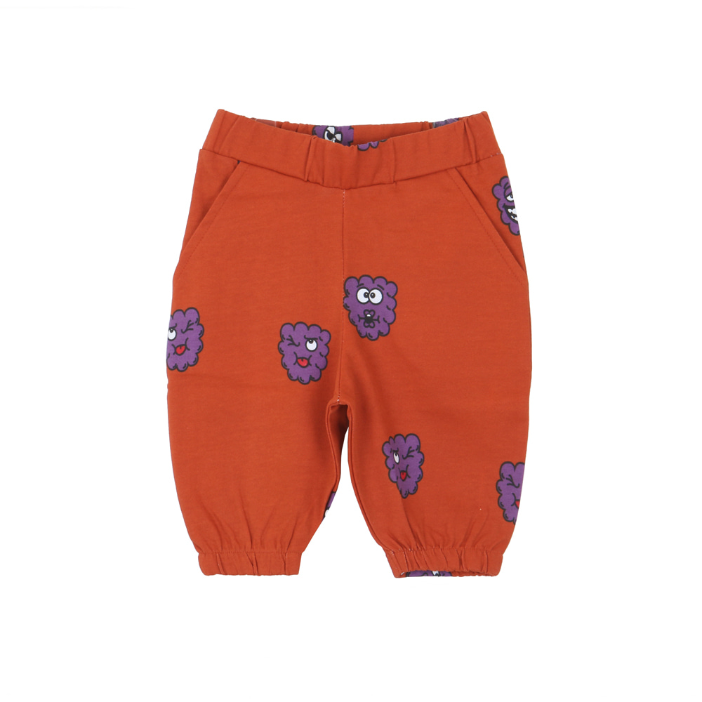KNEE SWEAT SHORT_PURPLE RASPBERRY