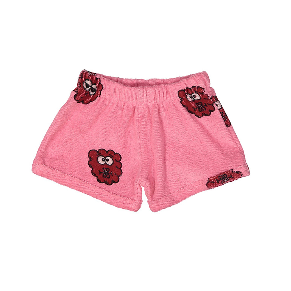 TERRY SHORTIES_PINK RASPBERRY
