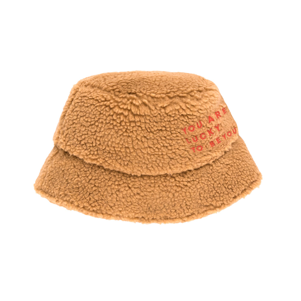 타이니코튼 SHERPA BUCKET HAT_BROWN