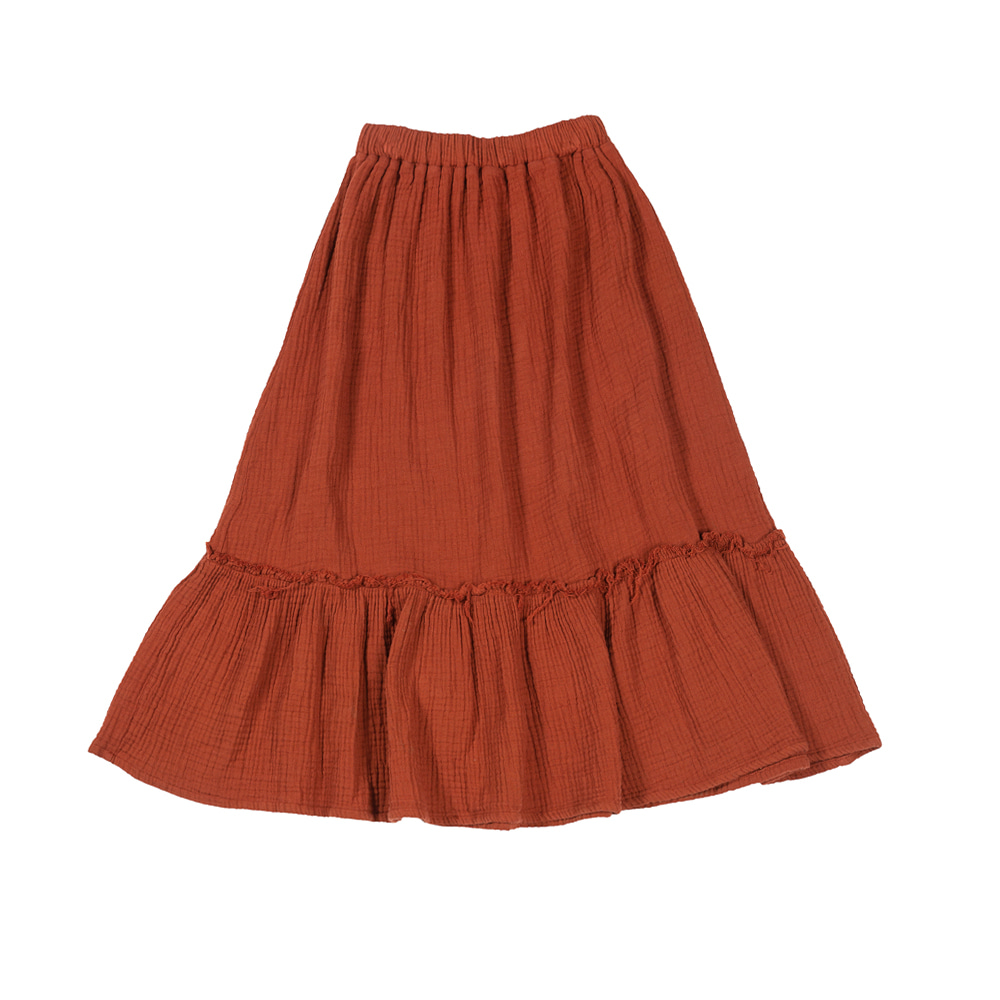 더 캄파멘토 BAMBULA SKIRT_BROWN