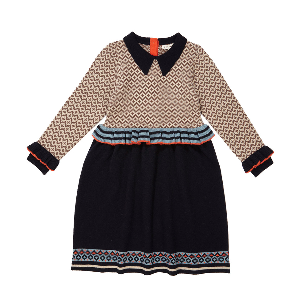 카라멜 ZEUS CHILD DRESS_ NAVY