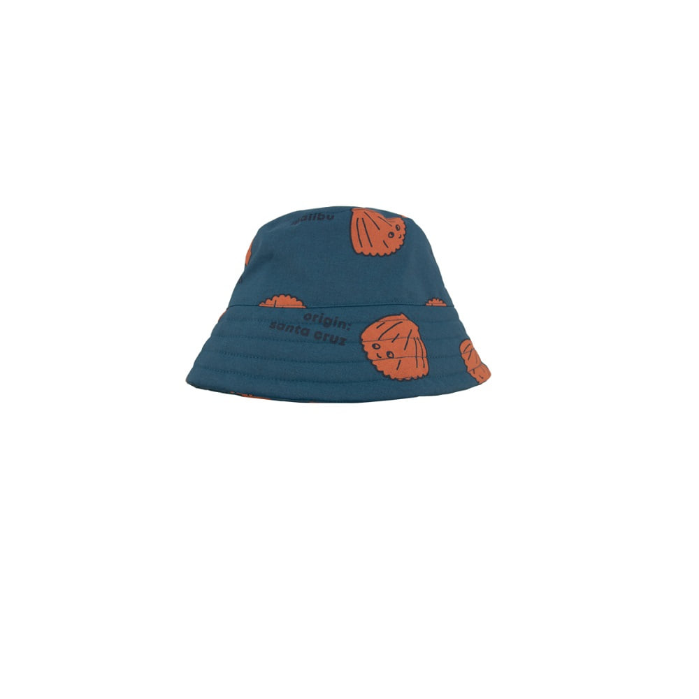 타이니코튼 SHELLS BUCKET HAT_LIGHT NAVY/BROWN
