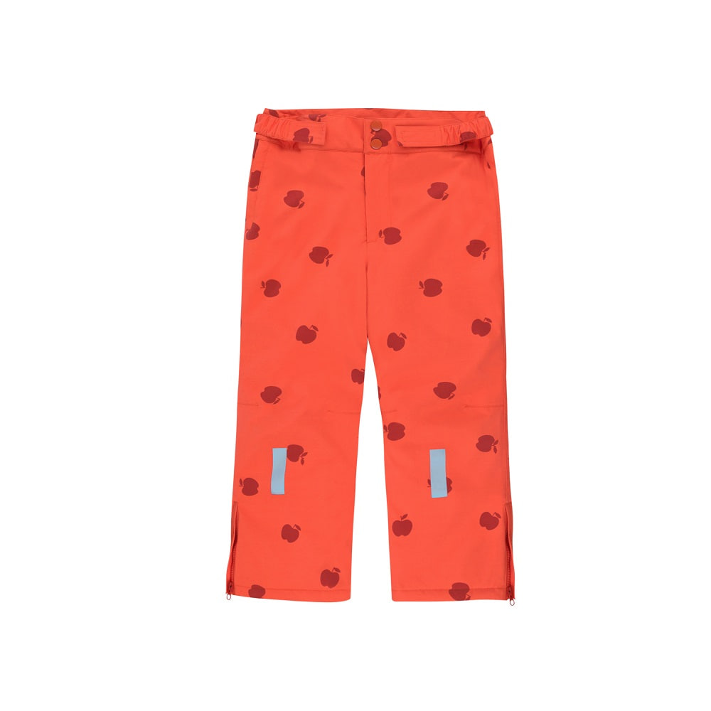 타이니코튼 APPLES SNOW PANT_	RED/BURGUNDY