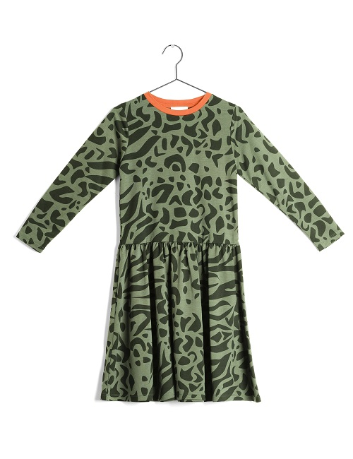 울프앤리타 JOSEFINA SUPERBACANA VERDE DRESS