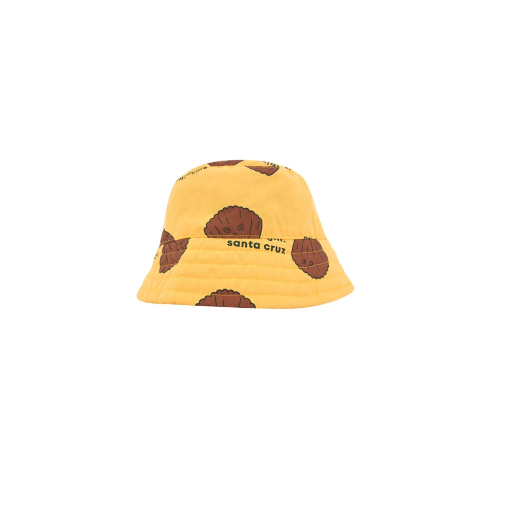 타이니코튼 SHELLS BUCKET HAT_YELLOW/BROWN