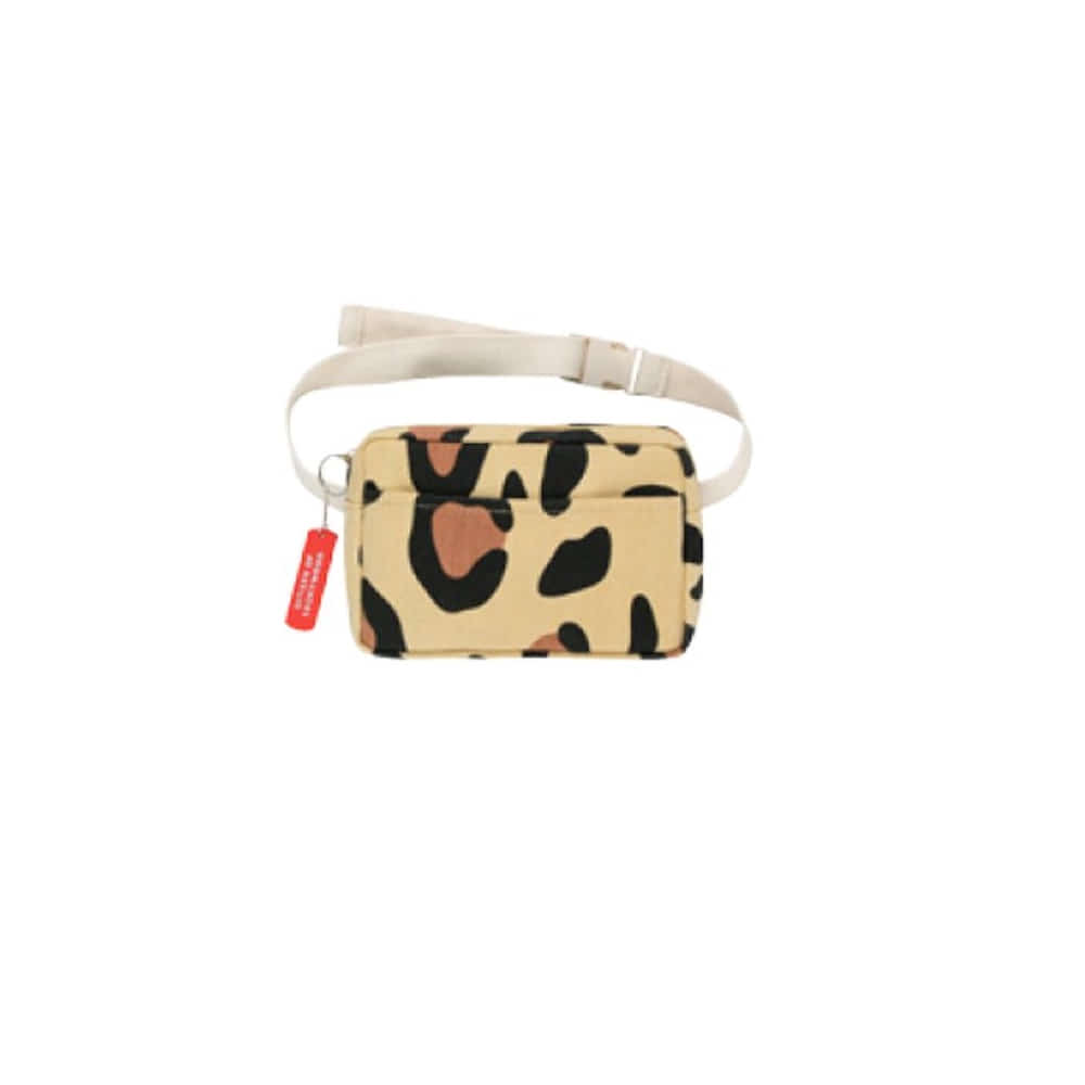 타이니코튼 ANIMAL PRINT FANNY BAG_SAND/BROWN