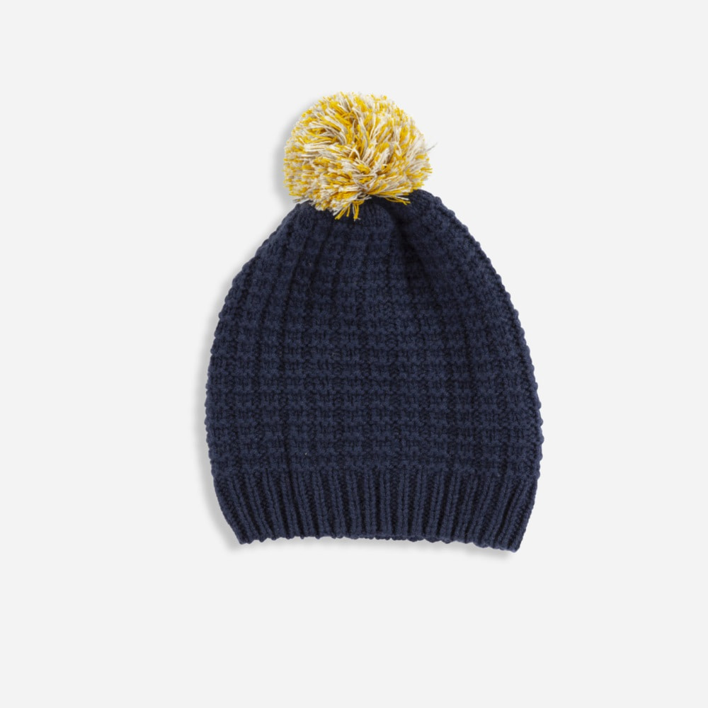올리비에. cashmere STORM HAT_FRENCH NAVY