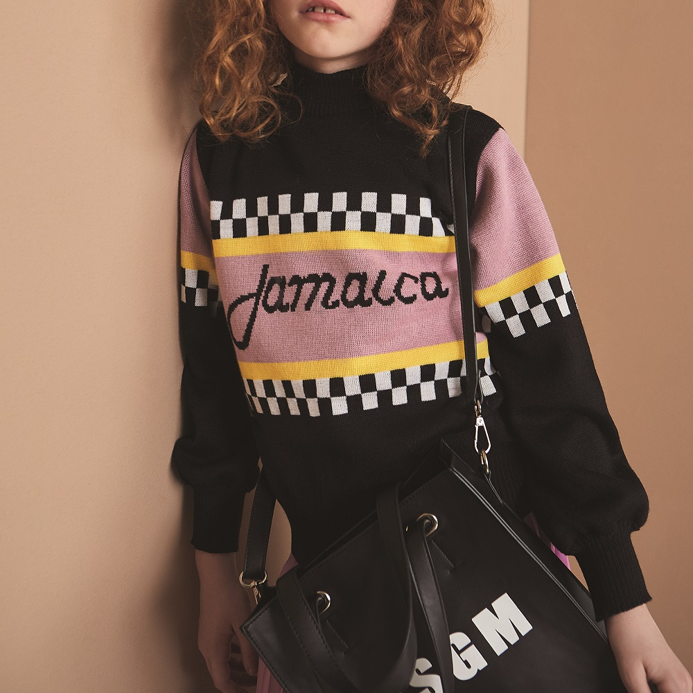MSGM SWEATER GIRL_SINGLE COLOUR