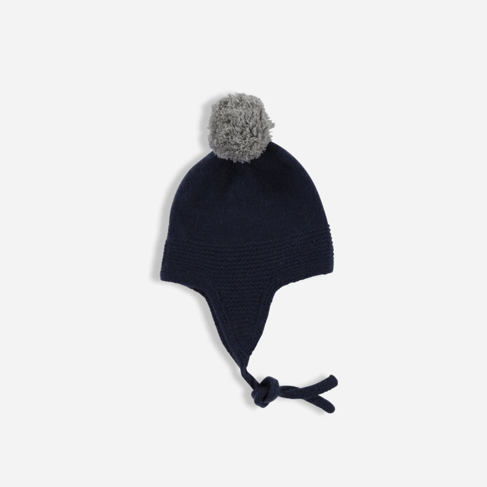 올리비에 cashmere BERNIE HAT_FRENCH NAVY