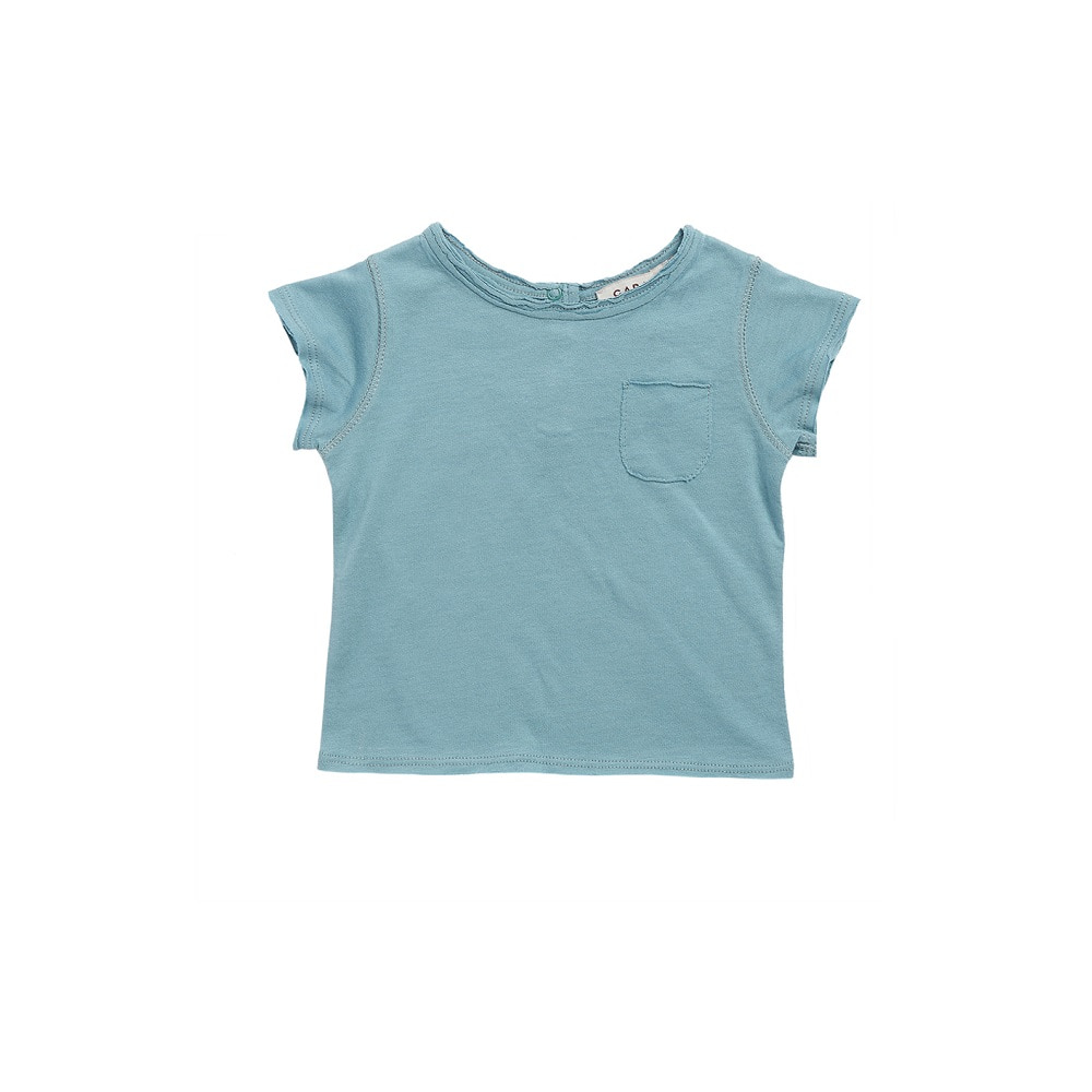 카라멜 HOXTON BABY T-SHIRT_SOFT BLUE