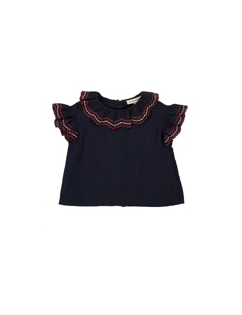 카라멜 HAMMERSMITH BABY TOP_DARK NAVY