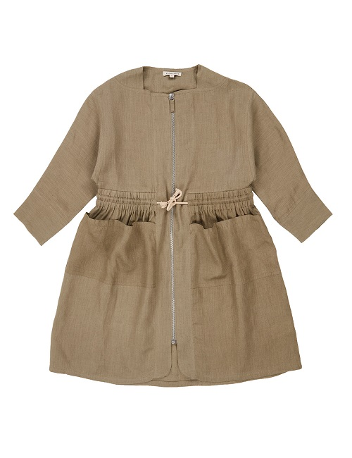 카라멜 Paddington Dress_Sage Green