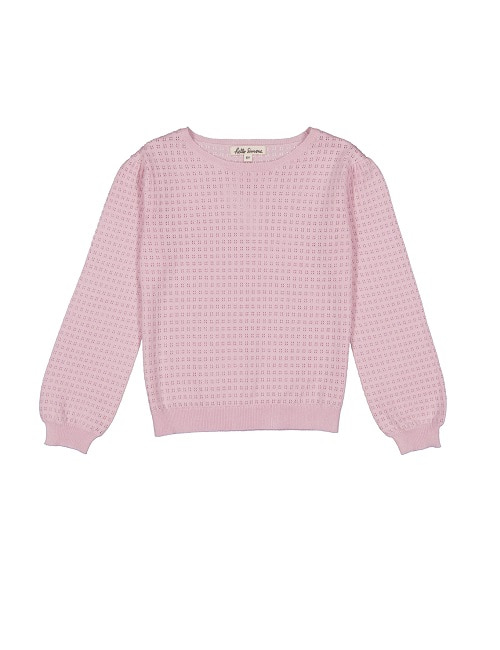 헬로시모네 emma sweater_pale rose