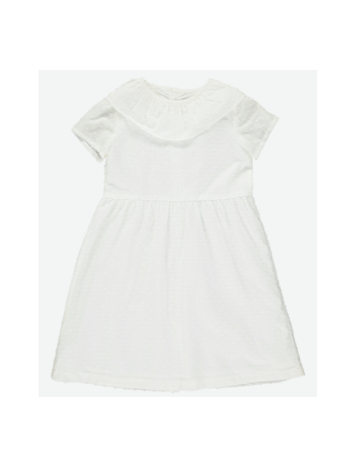 올리비에 Martha Dress//White Plumeti