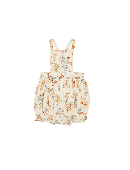 카라멜 Moorgate Baby Romper_ Floating Bouquet