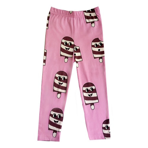 휴고러브스티키 LEGGINGS_ICE CREAM PINK