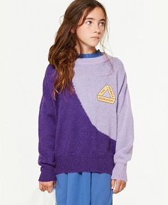 타오/BICOLOR BULL KIDS SWEATER 000831_120