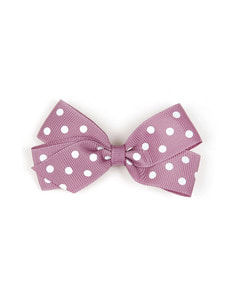 베르티존스 Medium Hair clip Dot_Rosy Mauve