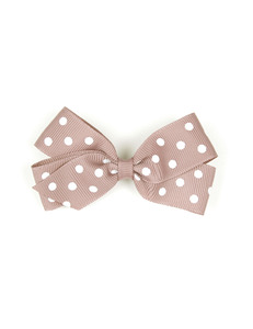 베르티존스 Medium Hair clip Dot_Antique Mauve