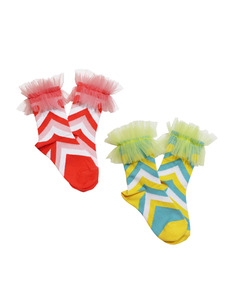 BALLET SOCKS _ YELLOW,PINK [Z-56]