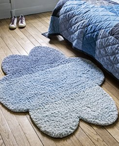 Cloud blue rug
