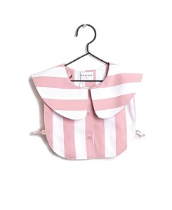 MARTA  COLLAR_ PINK STRIPES