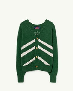 STRIPES RACCOON KIDS CARDIGAN 000944_047_XX
