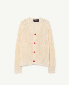 PLAIN RACCOON KIDS CARDIGAN 000940_036_XX