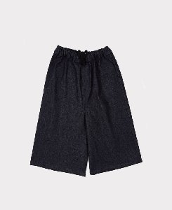 CHERRY CULOTTES_DARK BLUE