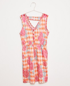 FLOWERS PLAYSUIT_PINK