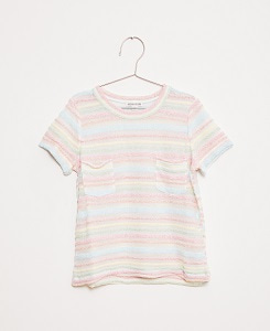 PASTEL STRIPES TSHIRT_MULTICOLOR