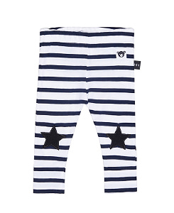 STAR STRIPE LEGGINGS_NAVY WHITE YDS