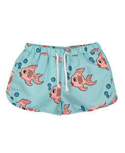 SWIM TRUNKS_BLUE FISH