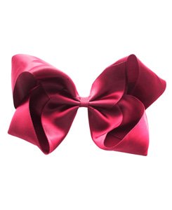 베르티존스 Large Hair Clip Satin_CAMELLIA ROSE