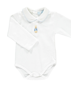 Peter Rabbit Onesie_White/Blue
