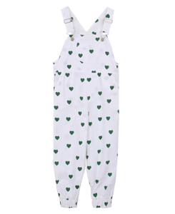 OVERALLS - LONG_GREEN HEARTS
