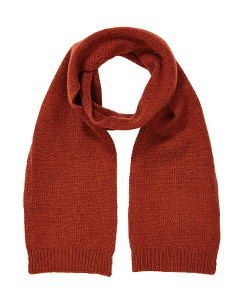 카라멜 JANUS CASHMERE CHILD SCARF_RUST