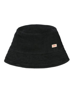 타이니코튼 CORD BUCKET HAT_BLACK