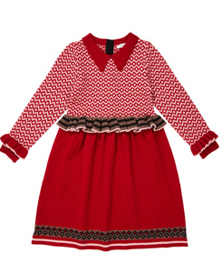 카라멜 ZEUS CHILD DRESS_WINTER BERRY