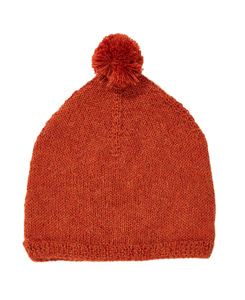 카라멜 AGON CHILD HAT_ORANGE