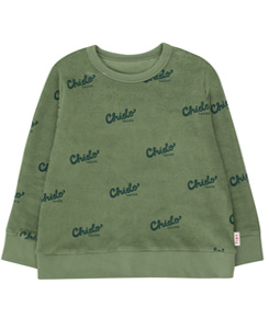 타이니코튼 CHIDO SWEATSHIRT_GREEN WOOD/BOTTLE GREEN