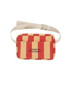 타이니코튼 CITIZEN FANNY BAG_SAND/RED