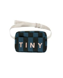 타이니코튼 TINY FANNY BAG_BLACK/TRUE NAVY