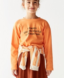 더 캄파멘토 SING AND WHISTLE TSHIRT_ORANGE